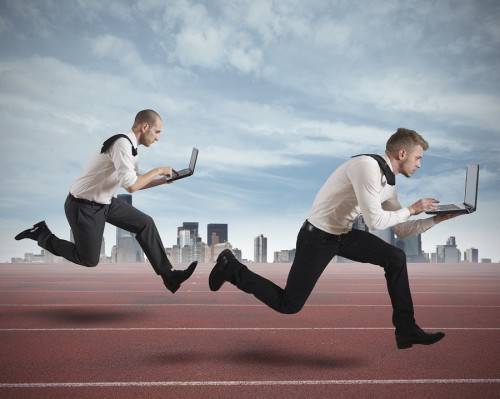 Decide to compete online or get out of the way... your competitors are closing in.