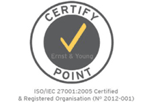 ISO 27002, ISO 27001 certified