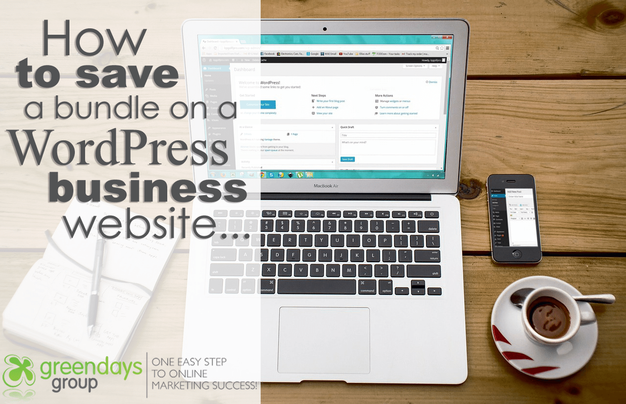 How to save a bundle on a wordpress website for business